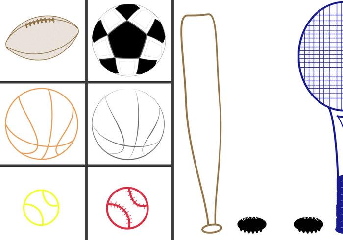 Équipement de sport 1 pour créateur d'enfants