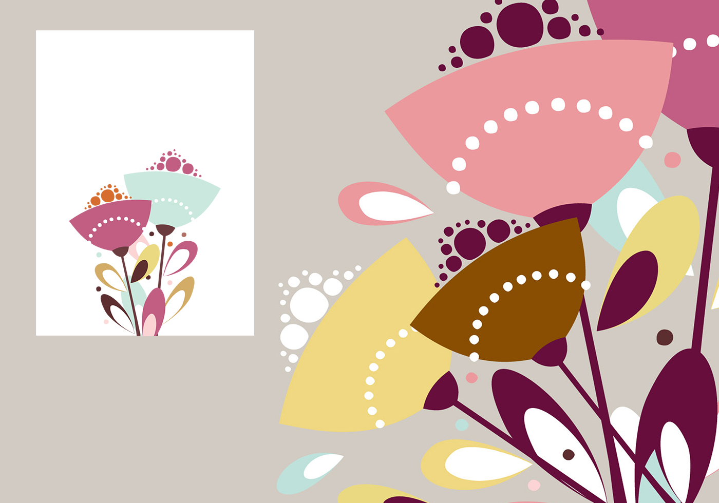 Abstract Floral Photoshop Wallpaper Brush Pack Free Photoshop