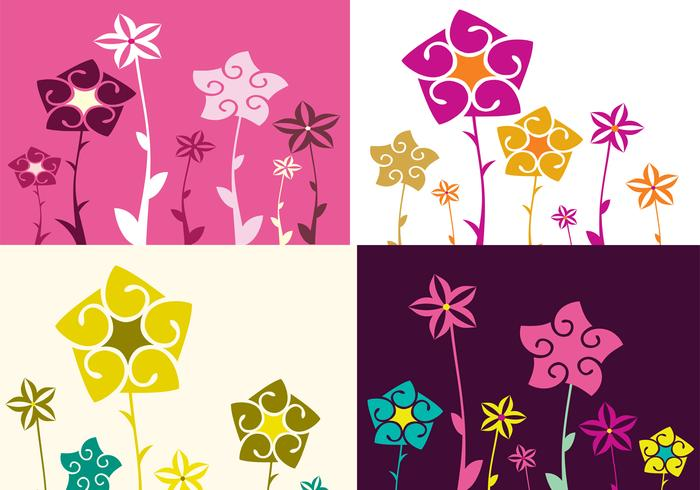 Fyra Floral Photoshop Wallpaper Pack