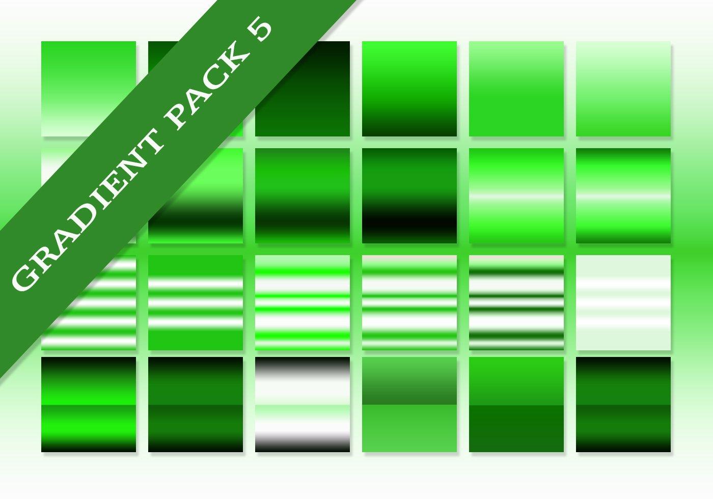 Free Green Ultimate Gradients Pack 5