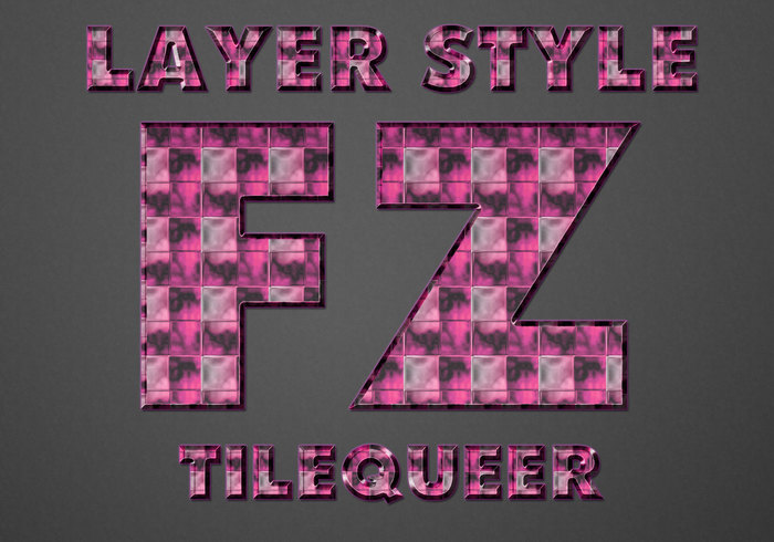 Style TileQueer Photoshop