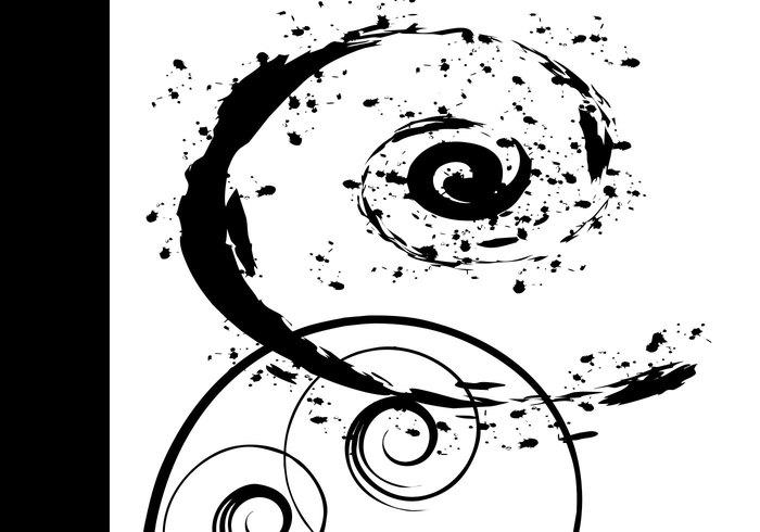 9 formas en espiral libres