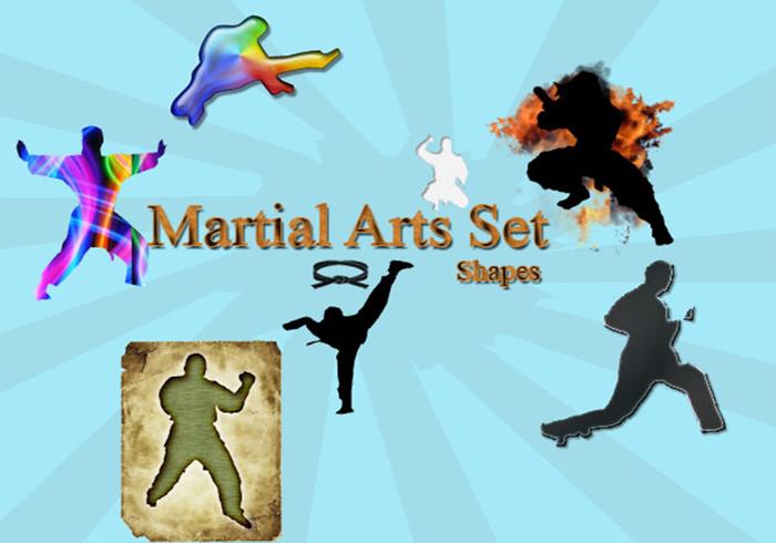 Martial Arts Shapes!