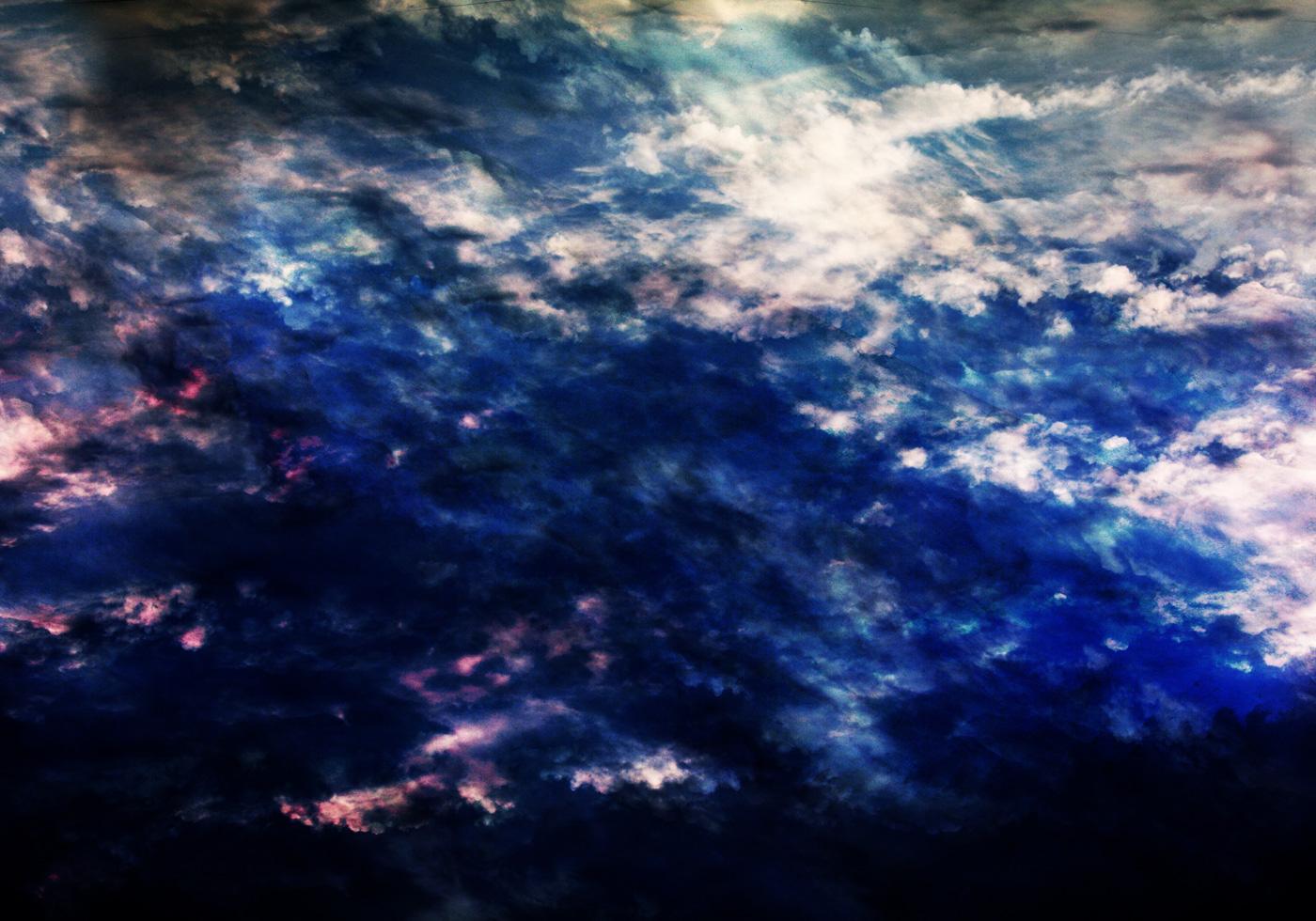 textura nublado