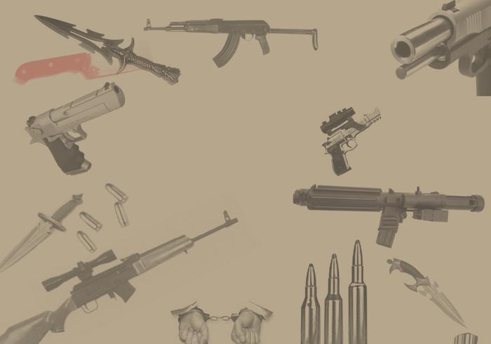 Vapen och kulor