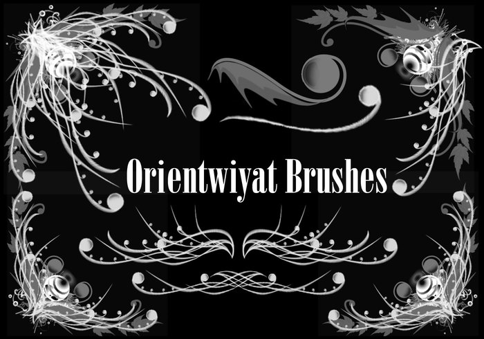 Orientwiyat Brushes by Udie
