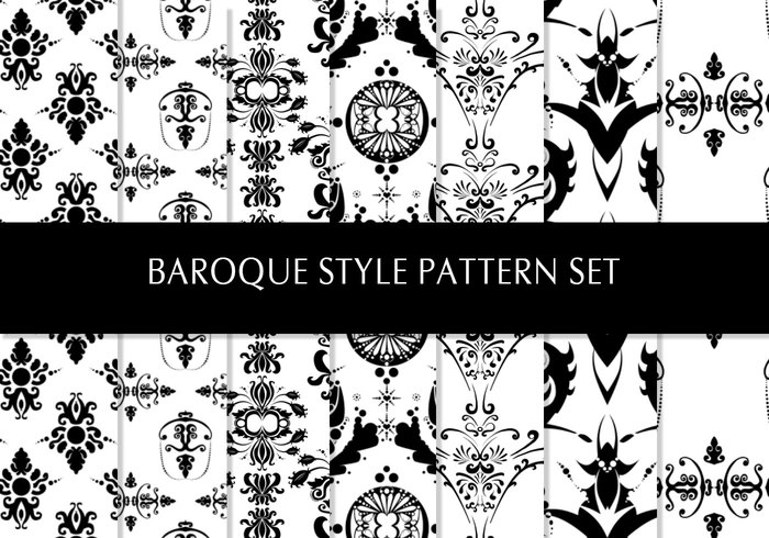 Baroque Pattern Pack 1