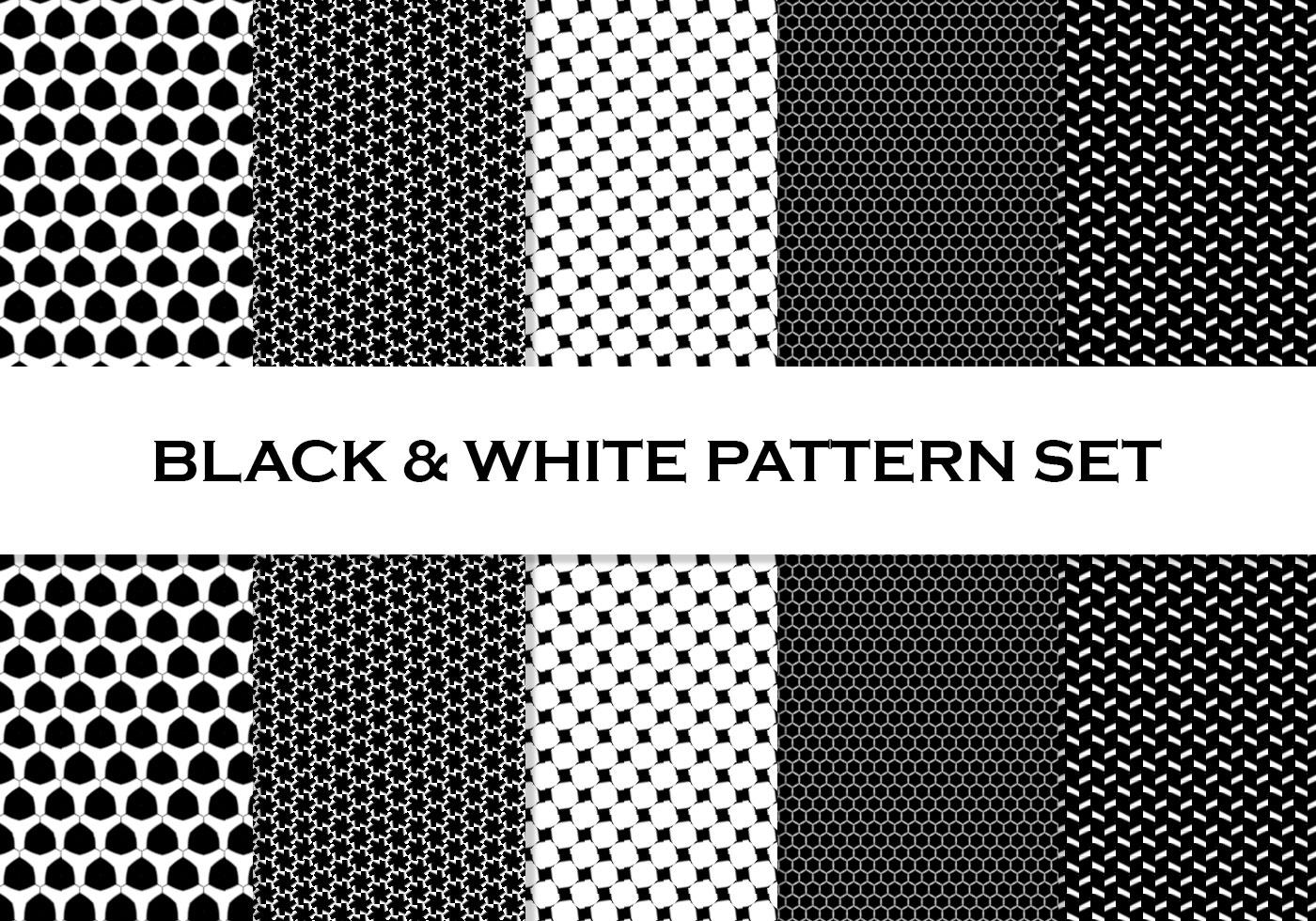 free black white tiled all over patterns. Black Bedroom Furniture Sets. Home Design Ideas