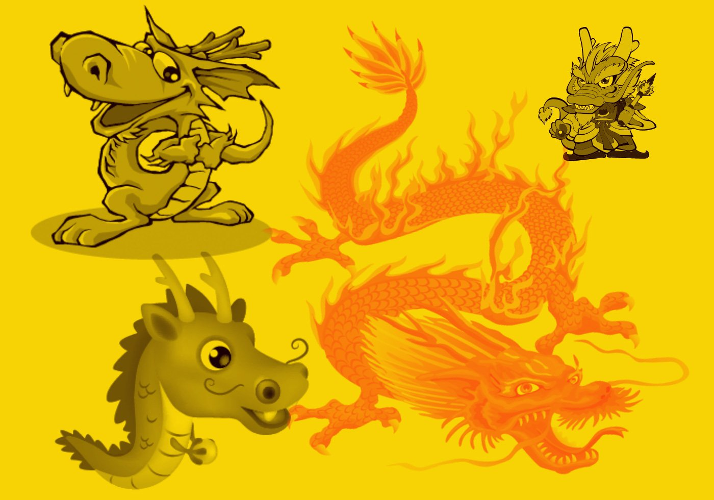 Chinese Dragon - Free Photoshop Brushes at Brusheezy!