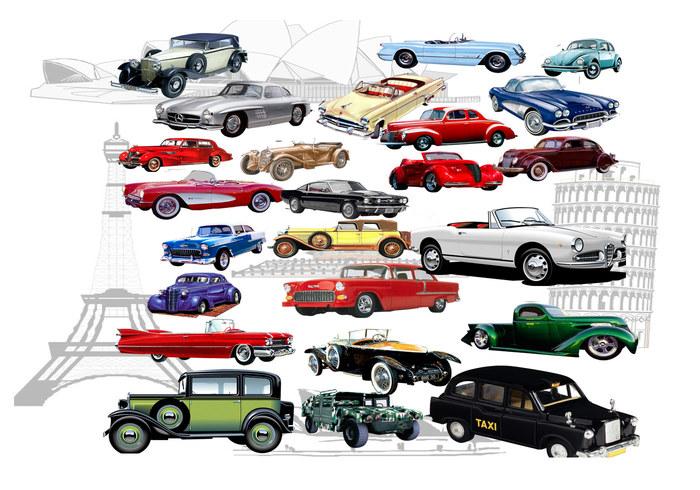 Klassiska bilar