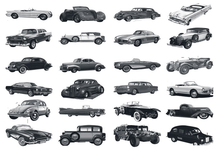 Classic Cars Free Photoshop Brushes At Brusheezy
