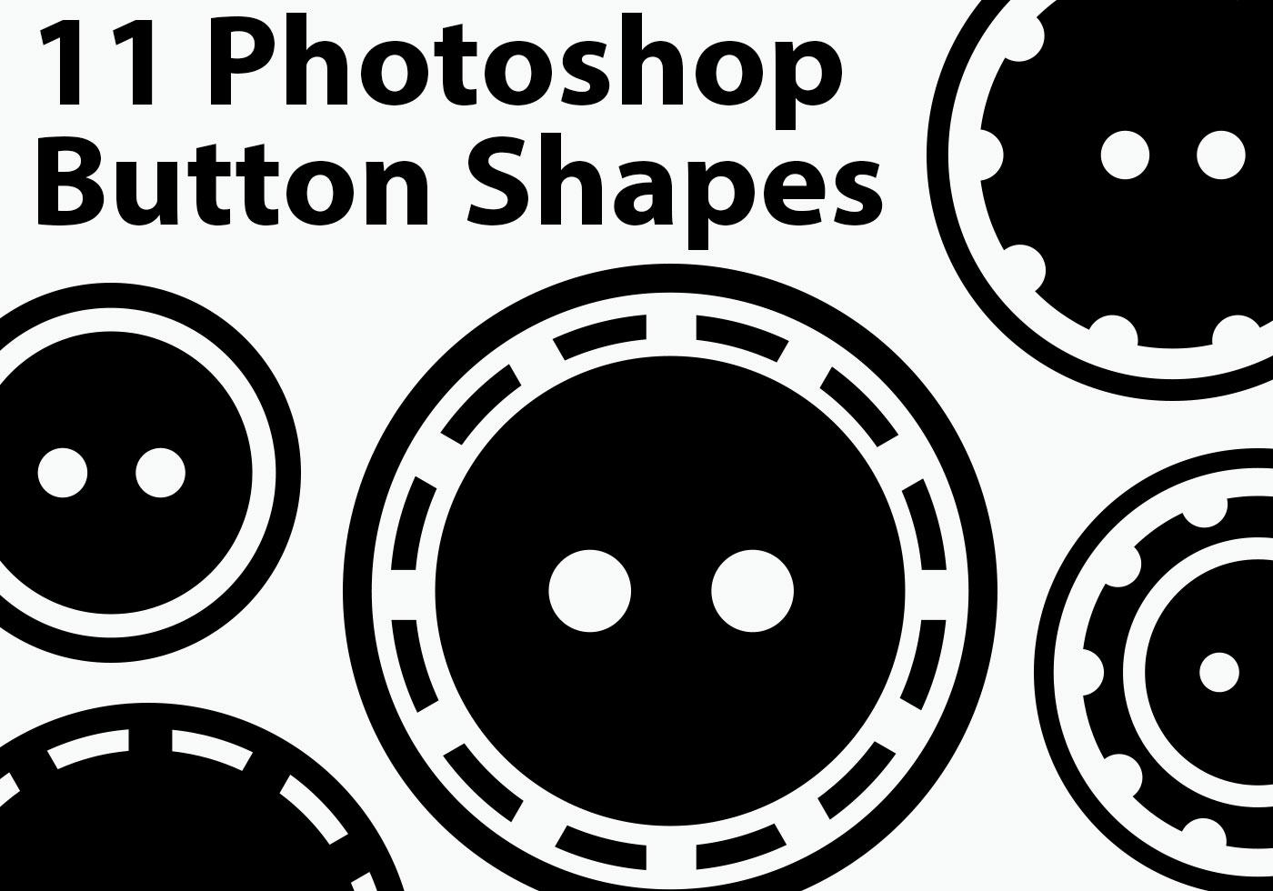 Free Custom Shapes for Adobe Photoshop - Designmodo