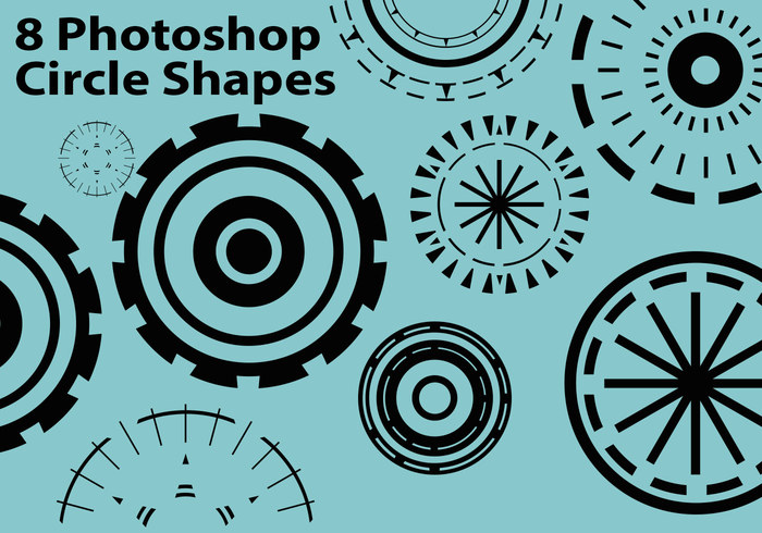 8 círculos criativos do Photoshop