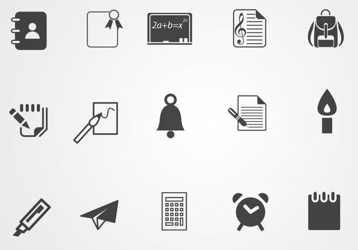 Education Icon Pack One