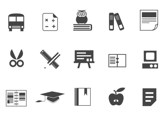 Education Icon Brush Pack Two