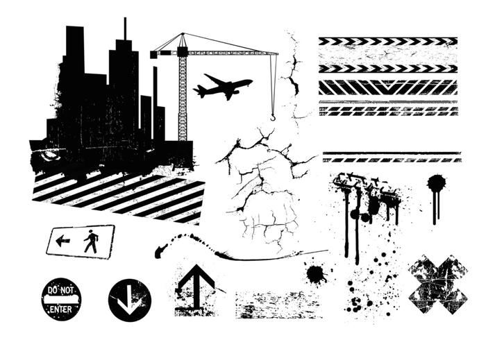 Urban City Brush Pack