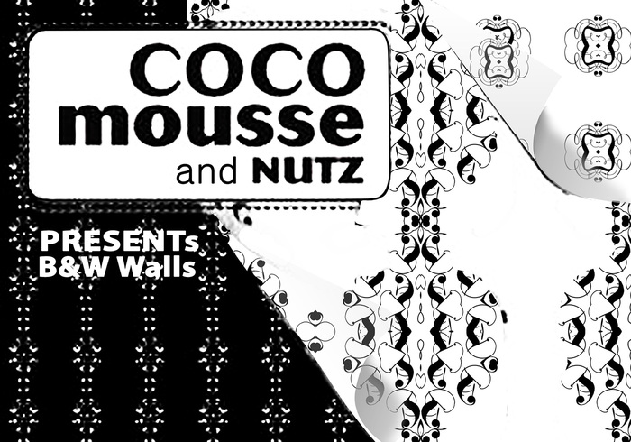 Coco Mousse & Nutz Black and White Patterns