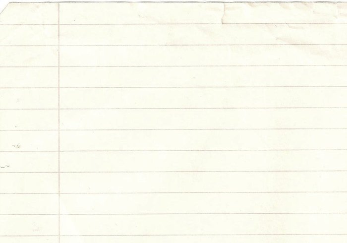 18482 Notebook Paper Texture on Handwriting Paper