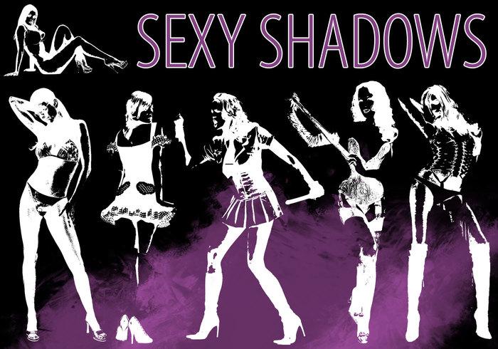 Pack de pinceaux sexy Shadows