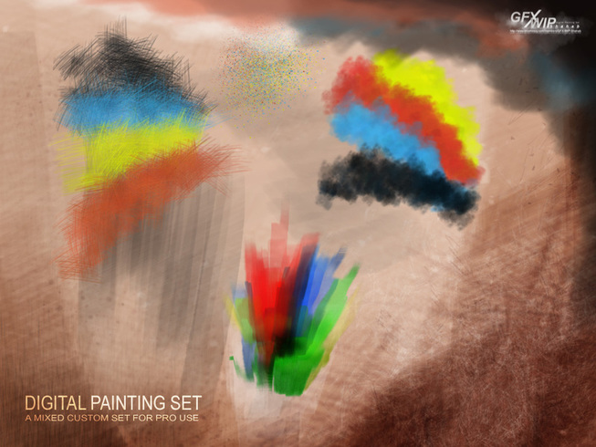 GFX-WIP Digital Painting Set 1
