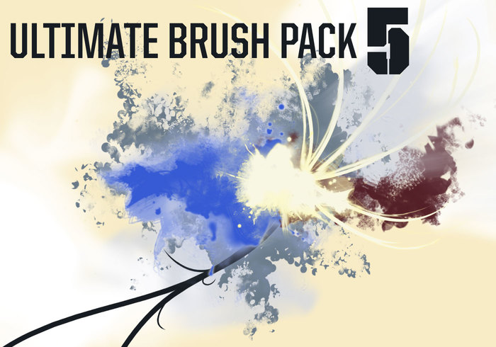 Abstract Brushes for Photoshop