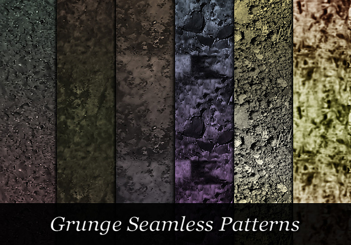 Dark Grungy Patterns