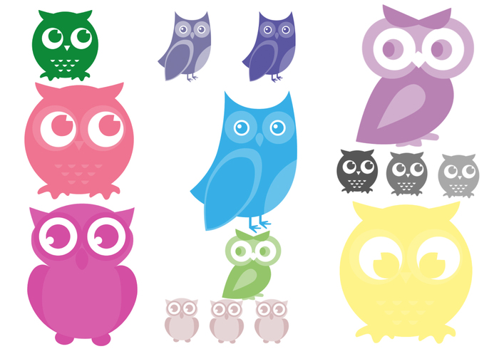 Cartoon Owl Brushes
