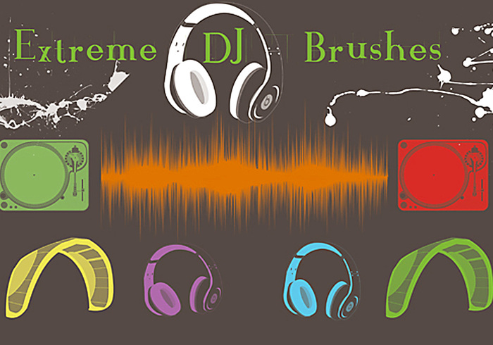 Extreme DJ Brushes