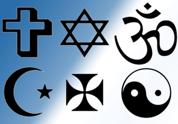 Religionborstar
