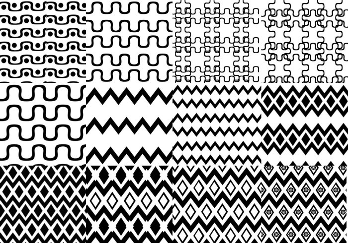 12 more seamless patterns