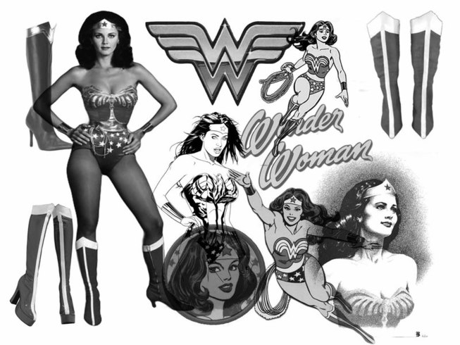 Wonder Woman PS Brushes