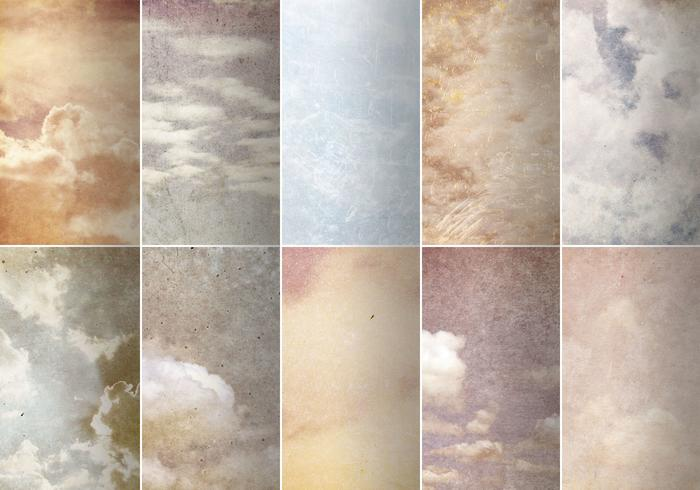Grungy Cloud Textures