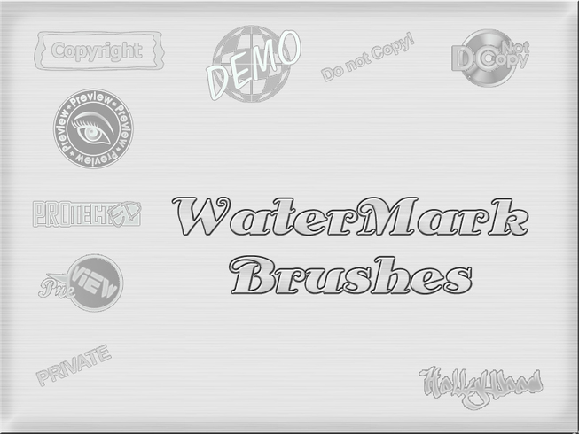 WaterMark Brushes