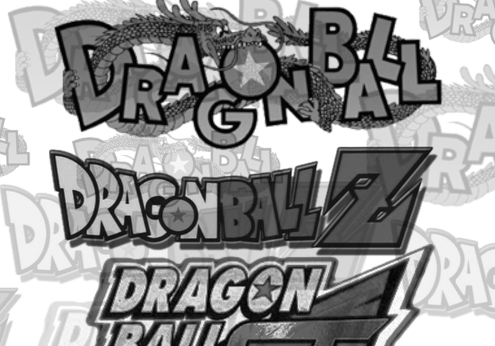 DB / DBZ / DBGT Dragon Ball Z Pinceles
