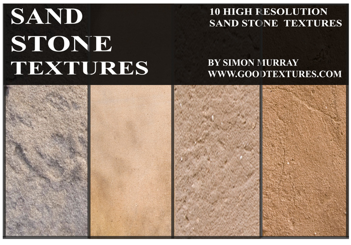 Zonnige Zandsteen Texturen