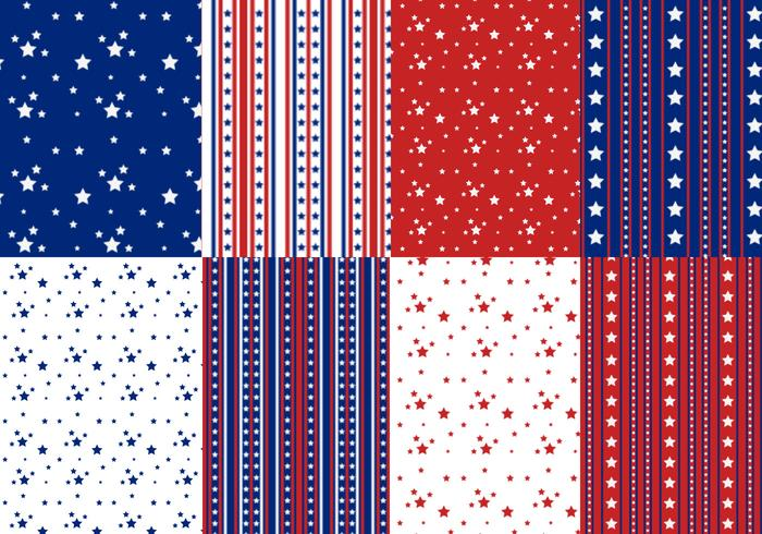 Stars and Stripes Pattern Pack