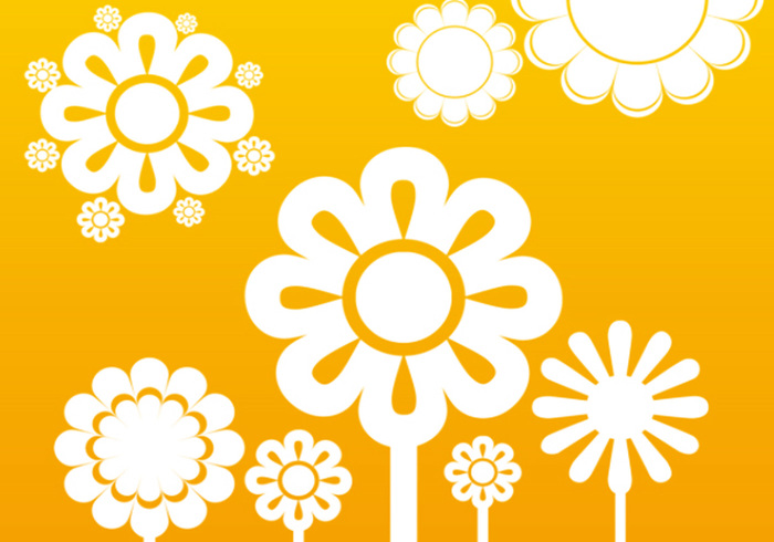 cute flower brushes  free photoshop brushes at brusheezy, Natural flower