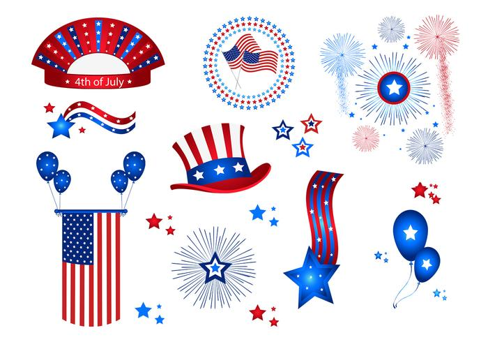11 4th of July Celebration Brushes