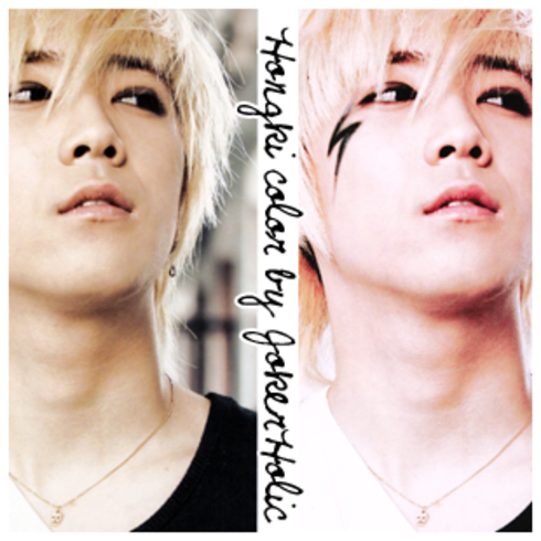 Lee hongki color psd