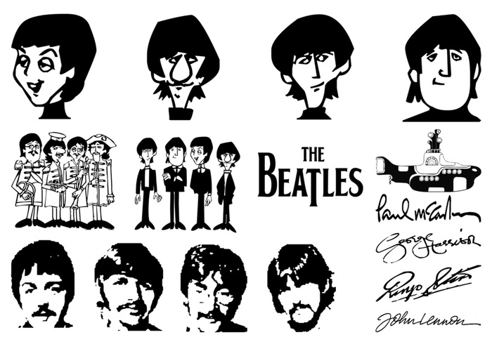 The Beatles Brushes