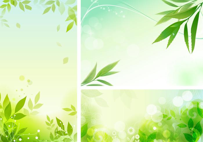 Leafy Organic Photoshop Wallpaper Pack