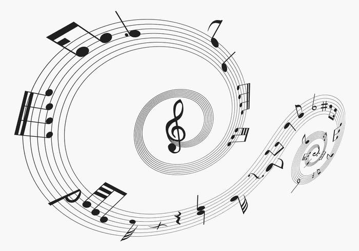 Musical Notes Brush Pack Two