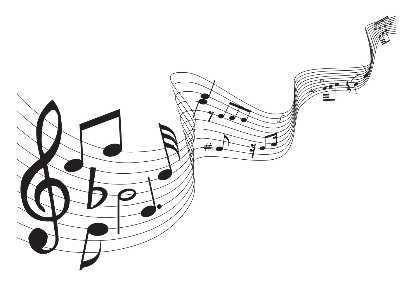 It's just a graphic of Punchy Printable Music Notation