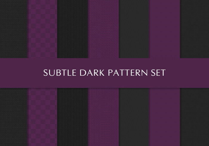 Gratis Royal Purple en Black Deluxe Patterns