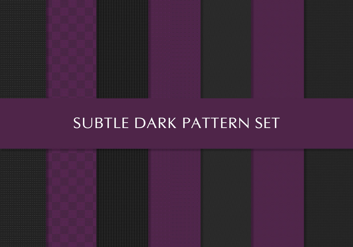 Free Royal Purple And Black Deluxe Patterns