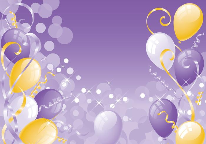 Party Zeit Pinsel und Wallpaper Pack