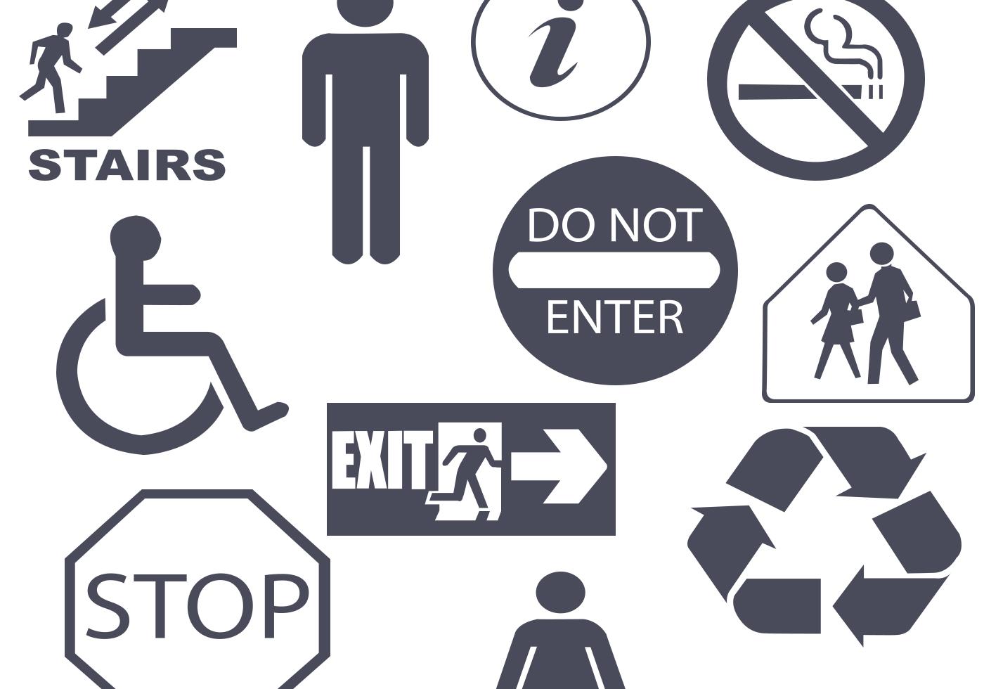 Public-signs-shapes