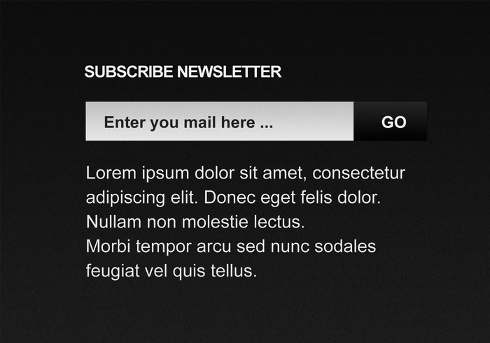 Inscrever-se Newsletter PSD