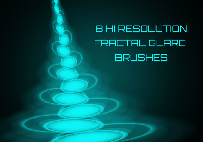 Glare Fractal Brushes