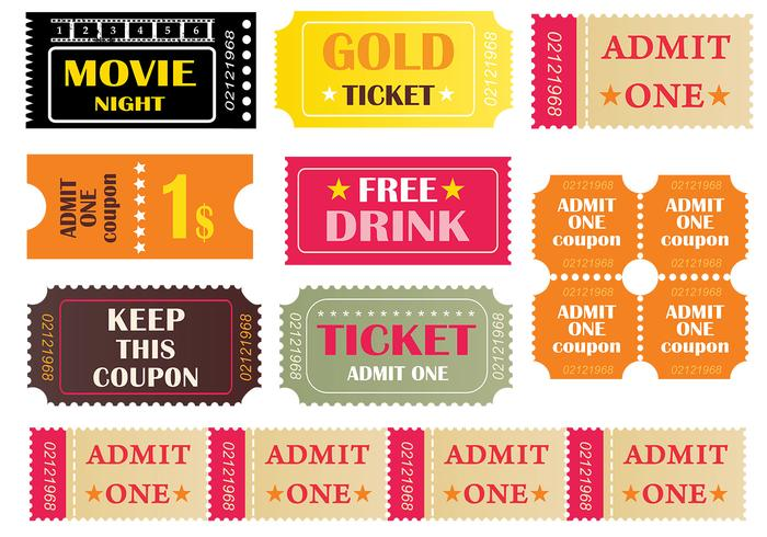 Tickets Brush Pack